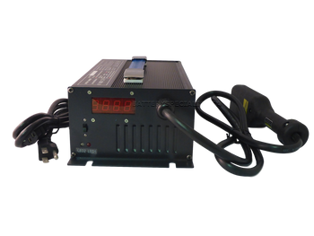 36V 18Ah Golf Cart Battery Charger - Powerwise EzGo TXT - Front View  | Battery Specialist Canada