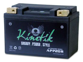 YTX14L-BS Kinetik Phantom LiFePO4 Battery | Battery Specialist Canada