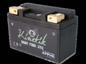 YTX9-BS - Kinetik Phantom LiFePO4 Battery | Battery Specialist Canada