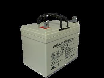 UBU-1 Universal Gel Battery  - 12V 33Ah | Battery Specialist Canada