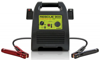 Rescue 900 12 Volt Jump Pack Side | Battery Specialist Canada