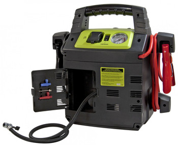 Rescue 950 12 Volt Jump Pack / Air Compressor | Battery Specialist Canada