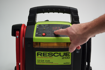 Rescue 2100 12/24 V Dual Voltage Power Pack | Battery Specialist Canada