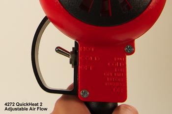 Heat Gun - 500/750°F Output - with Heat Deflector & Stand