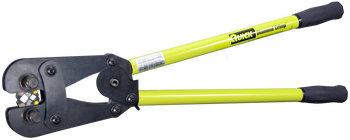 """Cable Crimper - Quick Crimp 250 - Handheld with Ratchet - Length 26""""  