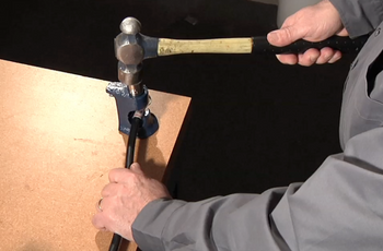 Brute Hammer Cable Crimper with hammer | Battery Specialist Canada