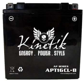 Power Sport Dry Charge AGM - APT16CL-B - 12-Volts 13-Amp Hrs  | Battery Specialist Canada