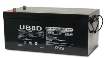 UB-8D - 12 Volts 250Ah -Terminal Auto Post - SLA/AGM Battery | Battery Specialist Canada