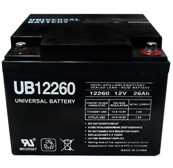 UB12260 - 12 Volts 26Ah - Terminal Internal Threads - SLA/AGM Battery - 40598 | Battery Specialist Canada