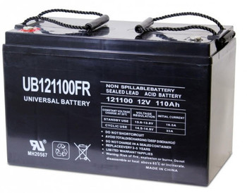 12 Volts 110Ah -Terminal I6 - Flame Retardant AGM Battery - UB121100FR - Group 30H | Battery Specialist Canada