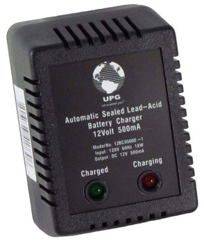 UPG D1730 Sealed Lead Acid Battery Charger Front | Battery Specialist Canada