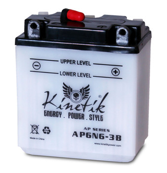 AP6N6-3B - Power Sport High Performance Battery - 6 Volts 6Ah - 41520 | Battery Specialist Canada