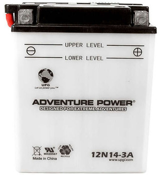 AP12N14-3A Power Sport High Performance Battery - 12 Volts 14Ah - 41545 | Battery Specialist Canada