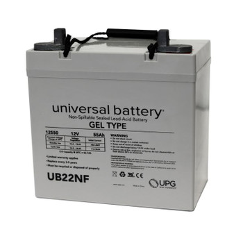 8G22NF - 12 Volts 55Ah - Gel Replacement Battery - Terminal Z1 - Group 22NF | Battery Specialist Canada