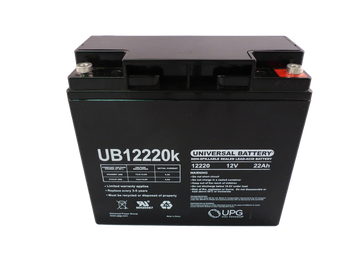 B. B. Battery BP17-12 - Upgrade replacement Valve Regulated Lead-acid Rechargeable Battery Top | Battery Specialist Canada