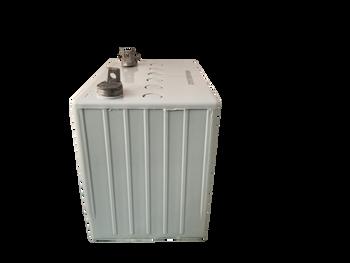 A824 - Gel Wheelchair Battery - 12V 75Ah - Grey Case Side  | Battery Specialist Canada