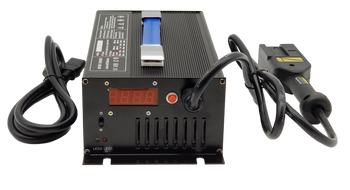 48 Volt 15 Amp Golf Cart Battery Charger - Powerwise EzGo With Notch Plug | Battery Specialist Canada
