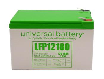 LFP12180 - 12.8V 18Ah LiFePO4 Lithium Battery Front | batteryspecialist.ca