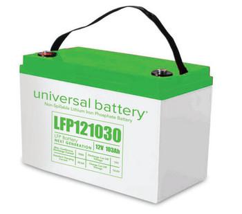 LFP121030 - 12.8V 103Ah LiFePO4 Lithium Battery | batteryspecialist.ca