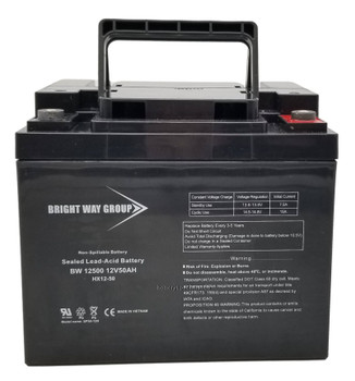 BW12500 - 12 Volts 50Ah -Terminal IT - SLA/AGM Battery  | Battery Specialist Canada