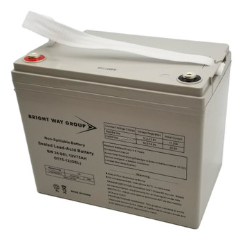 BW 24 GEL - Brightway Group Gel Battery - 12 Volts 75Ah - Group 24 - Terminal IT | Battery Specialist Canada