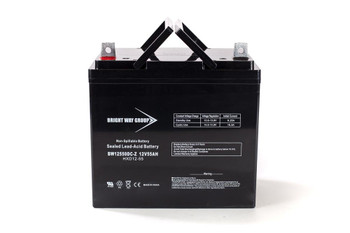 BW12550DC-Z - 12 Volts 55Ah -Terminal Z - SLA/AGM Battery | Battery Specialist Canada