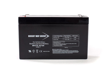 BW670 - 6 Volts 7Ah -Terminal F1 - SLA/AGM Battery - HX6-7 | Battery Specialist Canada