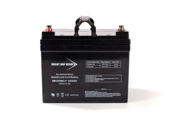 BW12350DC-IT - 12 Volts 35Ah -Terminal I2 - SLA/AGM Battery - Group U1 - HXD12-35 | Battery Specialist Canada