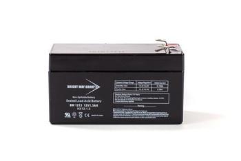 BW1213 - 12 Volts 1.3Ah -Terminal F1 - SLA/AGM Battery - HX12-1.3 | Battery Specialist Canada