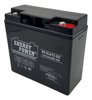 EP-SLA 12-22I - 12 Volts 22Ah -Terminal I10 - SLA/AGM Battery | Battery Specialist Canada