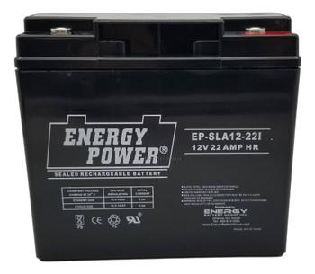 EP-SLA 12-22I - 12 Volts 22Ah -Terminal I10 - AGM Battery | Battery Specialist Canada