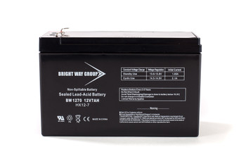 BW1270 - 12 Volts 7Ah -Terminal F2 - SLA/AGM Battery - Front | Battery Specialist Canada