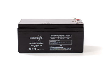 BW1234 - 12 Volts 3.4Ah - Terminal F1 - SLA/AGM Battery - HX12-3.4 | Battery Specialist Canada