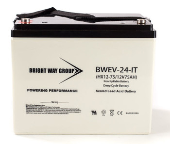 BWEV-24-IT - 12 Volts 75Ah -Terminal IT - SLA/AGM Battery - HX12-75  | Battery Specialist Canada
