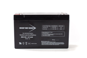 BW6120 - 6 Volts 12Ah -Terminal F2 - SLA/AGM Battery - HX6-12 | Battery Specialist Canada