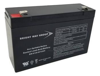 BW6120 - 6 Volts 12Ah -Terminal F2 - SLA/AGM Battery  | Battery Specialist Canada