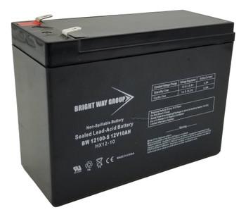 BW12100-S - 12 Volts 10Ah -Terminal F2 -SLA/AGM Battery - HX12-10 | Battery Specialist Canada