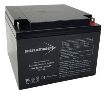 BW12260 - 12 Volts 26Ah -Terminal Nut & Bolt - HX12-26 | Battery Specialist Canada