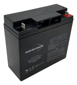 BW12180 - 12 Volts 18Ah -Terminal Nut & Bolt - SLA/AGM Battery | Battery Specialist Canada