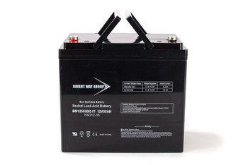 BW12550DC-IT - 12 Volts 55Ah - Terminal IT - SLA/AGM Battery - Group 22NF | Battery Specialist Canada