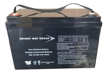 BW121100 - 12 Volts 110Ah - Terminal IT - SLA/AGM Battery - Group 30H | Battery Specialist Canada