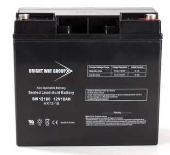 BW12180 - 12 Volts 18Ah -Terminal Internal Thread - SLA/AGM Battery - HX12-18 | Battery Specialist Canada