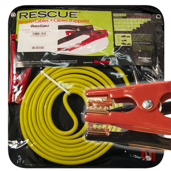 Booster Cable - 4 Gauge - 16' Long 400 Amps - Mechanic Clamp | Battery Specialist Canada
