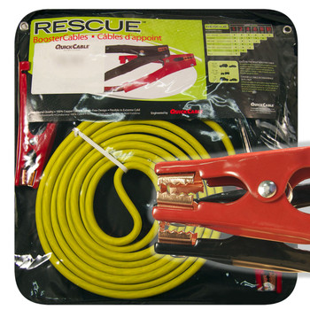 Booster Cable - 4 Gauge - 25 Long 400 Amps - Mechanic Clamp | Battery Specialist Canada