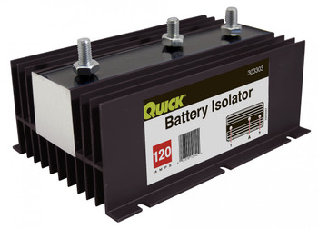 Isolator 120 Amp - Standard - 2 Batteries