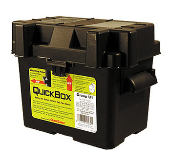 Group U1 Battery Box - Black | Battery Specialist Canada
