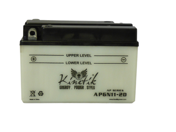 6N11-2D Power Sport Battery - 6 Volts 11 Amp Hrs | Battery Specialist Canada