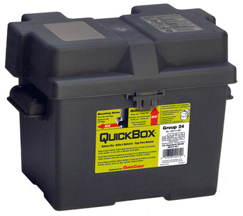 Group 24 Battery Box - Black | Battery Specialist Canada