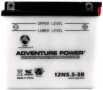 Power Sport Conventional - 12N5.5-3B - 12 Volts 5.5 Amp Hrs | Battery Specialist Canada