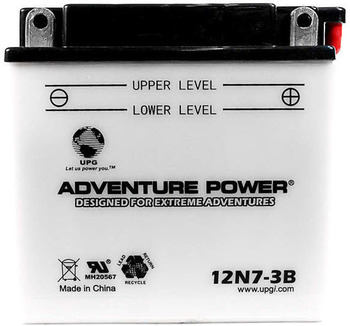 Power Sport Conventional - 12N7-3B - 12 Volts 7 Amp Hrs | Battery Specialist Canada
